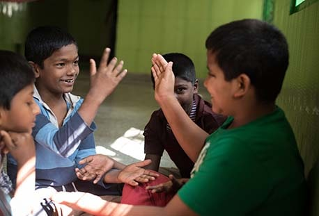 Education and Skill Training of Street and Working Children