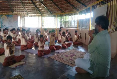 Educational support for children from rural Bangalore